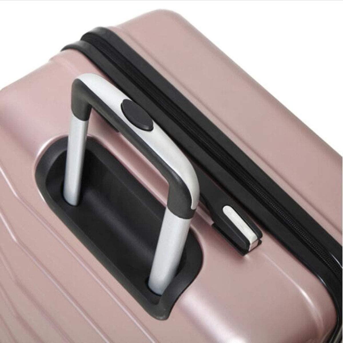 Black cm Color : Light Purple, Size : 171027 inch 342256 Aishanghuayi Suitcase for Fashion Business Suitcase Suitcase Size
