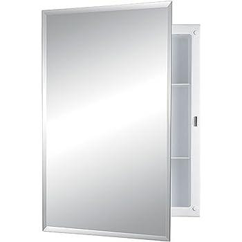 Amazon Com Jensen 1453adjx Bevel Mirror Medicine Cabinet