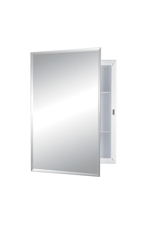 Bathroom Medicine Cabinet Mirror Recess Mount Continuous ...