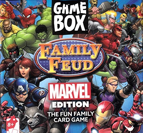 Family Feud, Marvel Edition Game Box