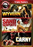 Maneater Triple Feature 4: Wyvern / Sand Serpents / Carny