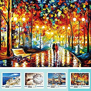 LOOCH Jigsaw Puzzles for Adults 1000 Piece - Rainy Night Walk Adult Jigsaw Puzzles Educational Game - Puzzle Decoration Toys Gift for Kids - Challenging Family Puzzles for Fun, Hobby, Relaxation