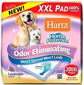 Hartz Home Protection Lavendar Scent Odor Eliminating Gel Dog Pads - XL - 30 Count 3270014839