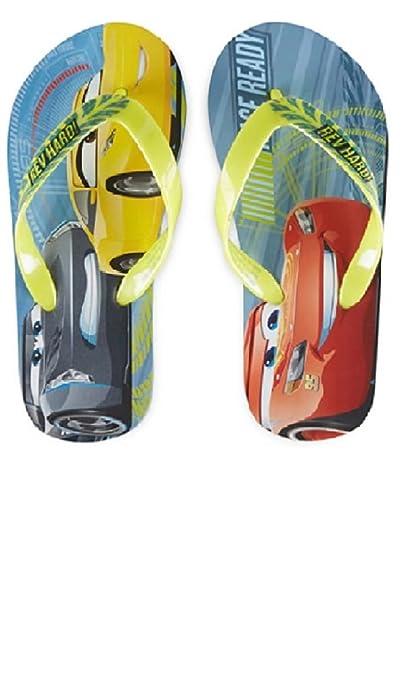 5533b6d061f79 Amazon.com  Cars 3 Boys Sandals Flip Flop Storm Mcqueen (9 10)  Shoes