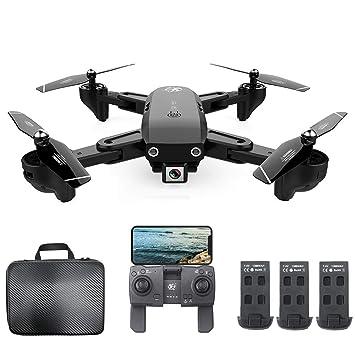 Mobiliarbus RC Drone CSJ S166GPS con cámara 1080P Sígueme Regreso ...