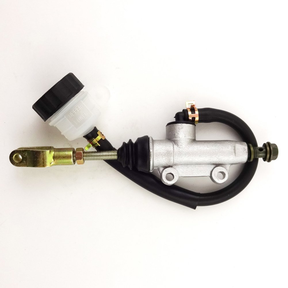 TC-Motor Chinese ATV Rear Foot Brake Master Hydraulic Cylinder Pump With Reservoir For 50 70 90 110 125 150 200 250 cc Quad Pit Dirt Bike