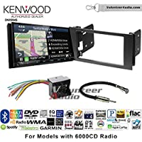 Volunteer Audio Kenwood Excelon DNX994S Double Din Radio Install Kit with GPS Navigation Apple CarPlay Android Auto Fits 2010-2011 Transit Connect