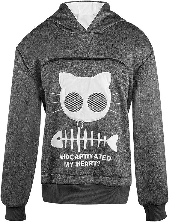 Amazon.com: Suéter con capucha para perro, para mujer, para ...