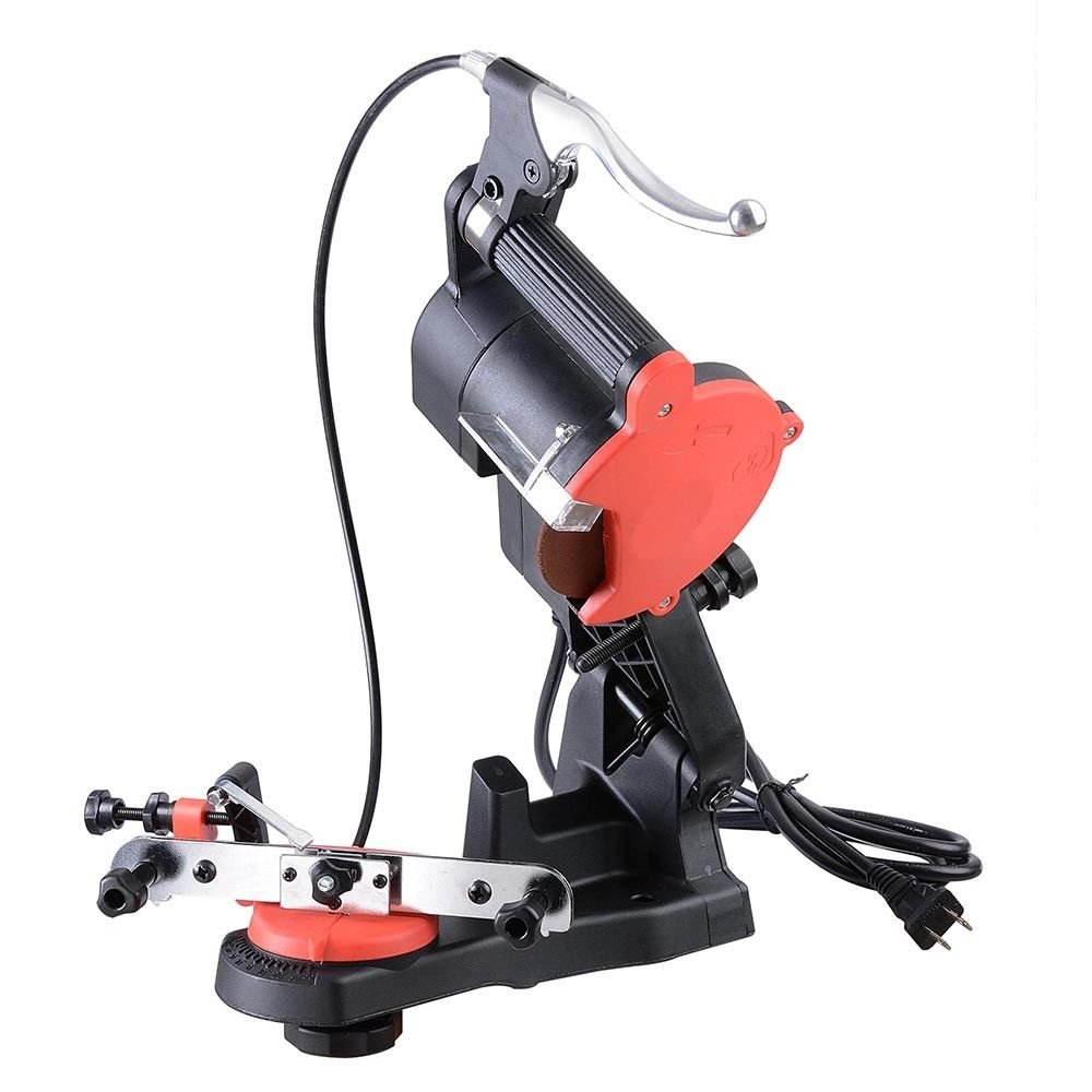 Sanny Electric Chain Saw Sharpener 4800RPM Bench Wall Mount Grinder Wheel Tool Brake