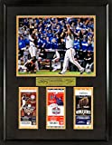 """SF Giants Buster Posey & Madison Bumgarner """"World Series Champions"""" 11x14 Photo w/ Tickets (SGA Signature Series) Framed"""