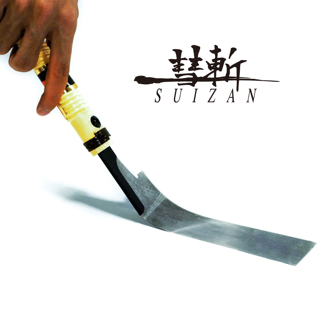 SUIZAN Japanese Hand Saw pull saw 7 inch Flush Cut saw trim saw for Woodworking