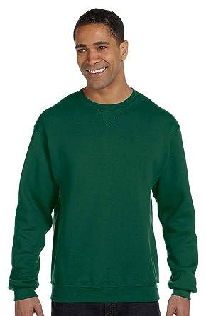 18c1e5b58 Russell Athletic 698HBM Dri-Power Fleece Crew - Dark Green - 2XL at Amazon Men's  Clothing store: Button Down Shirts