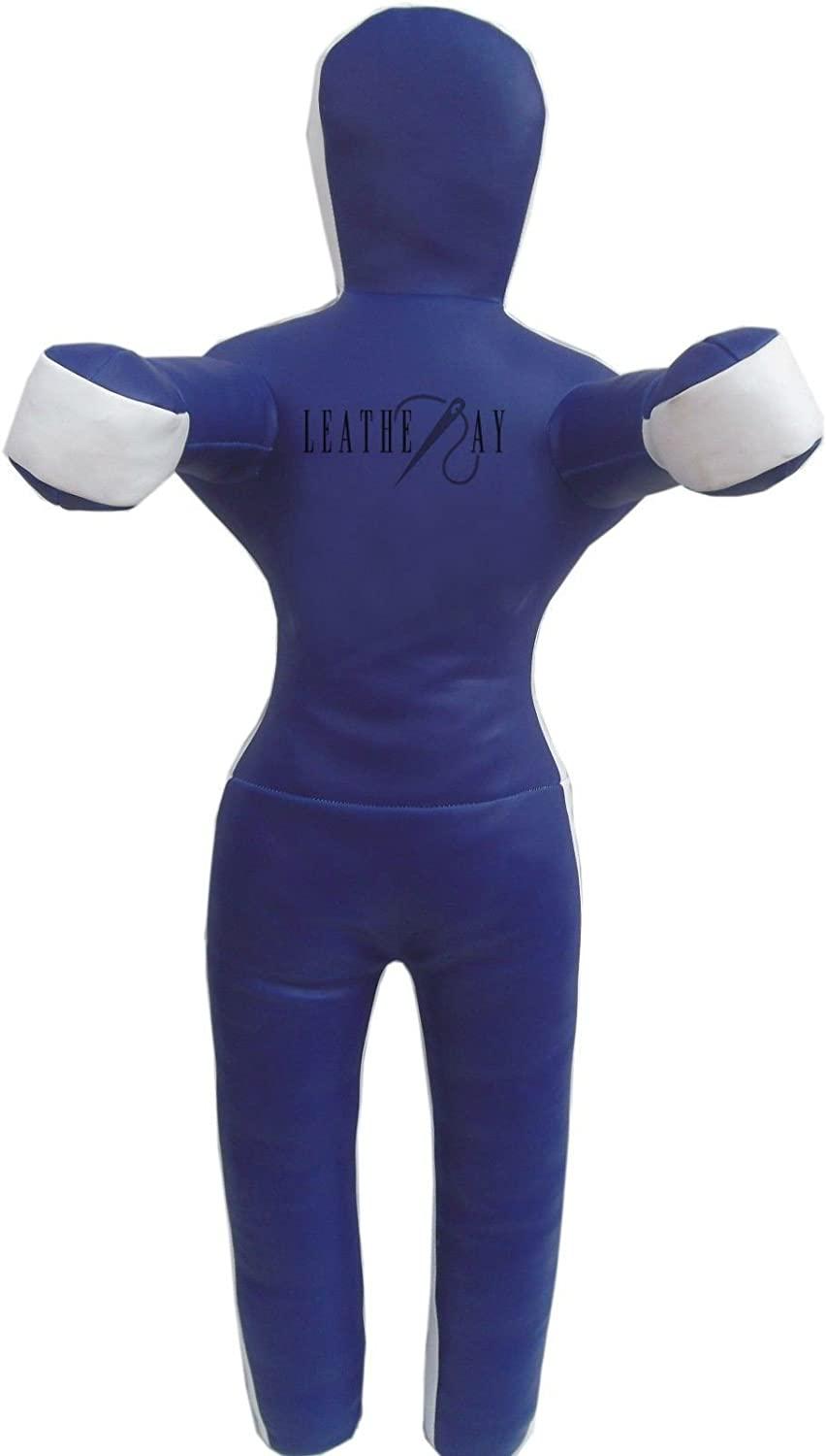 leatheray MMA Jiu 59 Jitsu柔道Punching Bag Synthetic ft) Grapplingダミーブルー – Unfilled 59 inches (5 ft) Synthetic Leather Blue B079TYHQD1, icon contempo:3a014f49 --- capela.dominiotemporario.com
