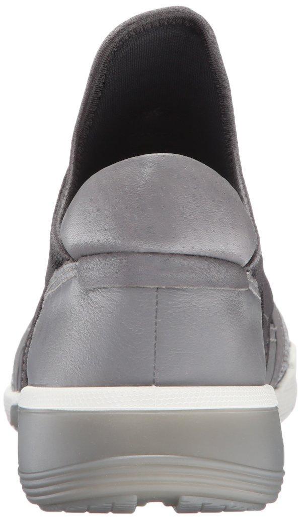 ECCO Women's Intrinsic 2 Band Fashion Sneaker B0163GBEQ8 39 EU/8-8.5 M US|Concrete/Wild Dove