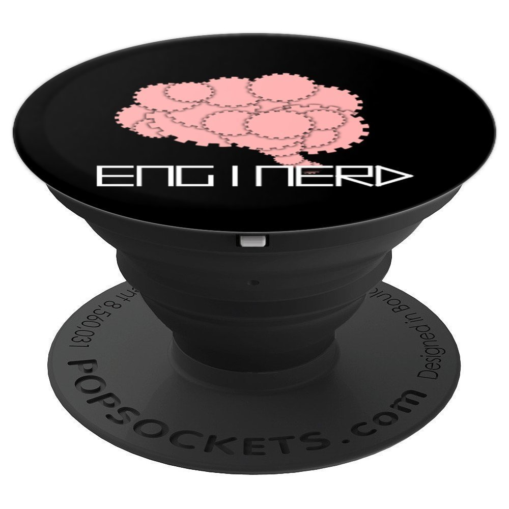 Enginerd Funny System Brain Cool Engineer Geek - PopSockets Grip and Stand for Phones and Tablets