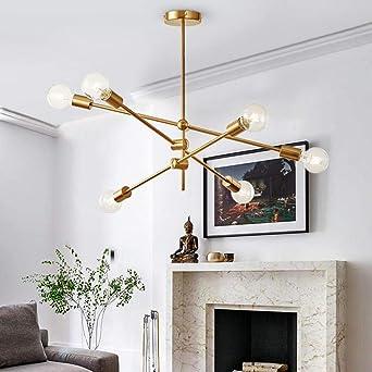 Proceso clásico de revestimiento de lámpara de techo giratorio ...