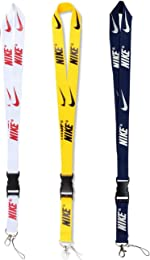 Fashion Lanyard 3 Pack Neck Lanyard Strap for Keychains Keys Cell
