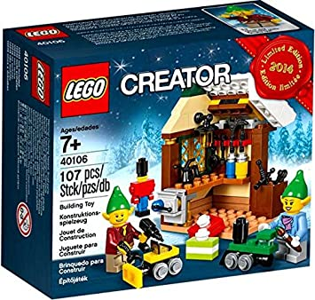 Lego Creator Toy Workshop Box Set 40106 2014 Limited Edition Amazon