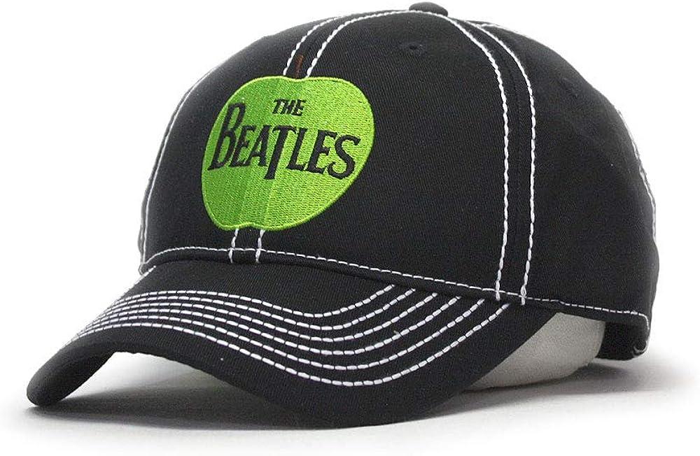 The Beatles Classic Adjustable Baseball Cap Drop T Logo Sgt Pepper Drum Abbey Road