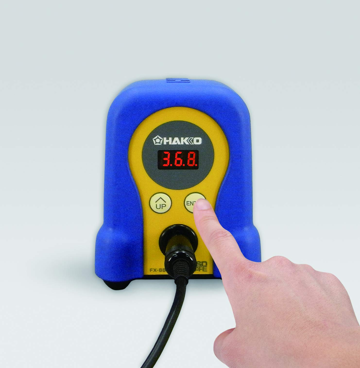 Hakko FX888D-23BY Digital Soldering Station FX-888D FX-888 (blue & yellow) by Hakko
