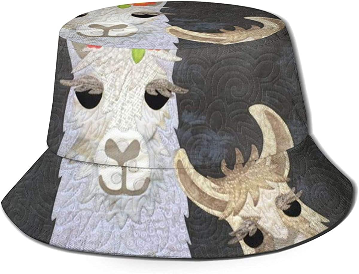 Bucket Hat LLama Love