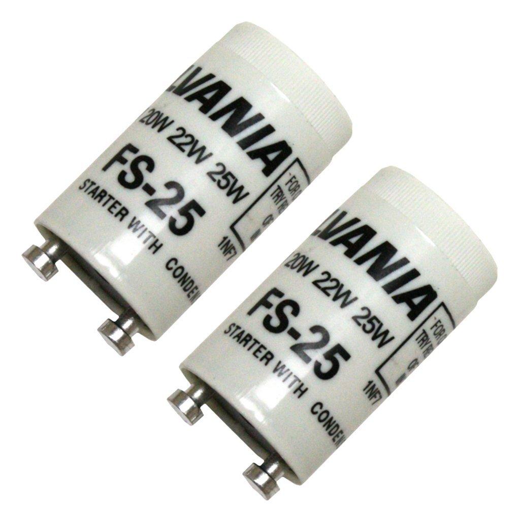 Sylvania 42511 - FS25/BL/2PK 12CS CP Ballast Starter