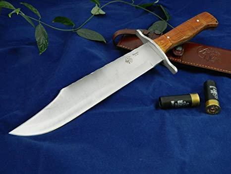 Amazon.com: JV CDA Knife model BOWIE COCOBOLO: Sports & Outdoors