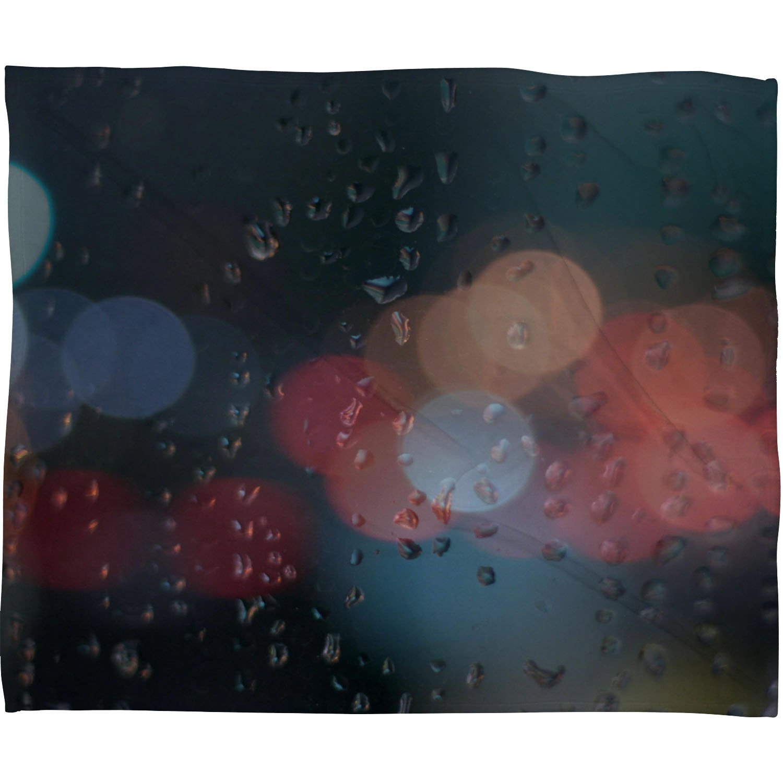 30 x 40 Deny Designs Leonidas Oxby August Rain Booo Keh Fleece Throw Blanket