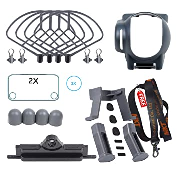 MKT® Drones Protection Set para dji Mavic Pro (Gris): Amazon.es ...