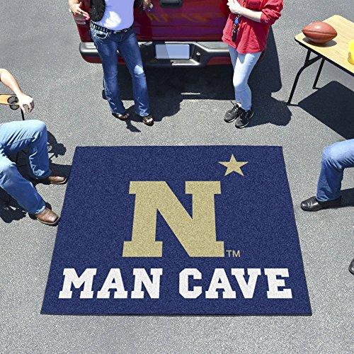 Fan Mats 17343 U.S. Naval Academy Midshipmen 5' x 6' Man Cave Tailgater Mat