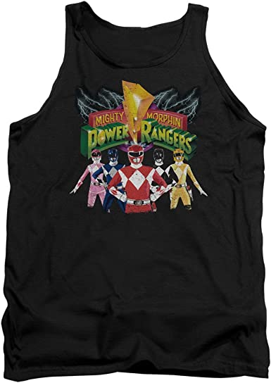Power Rangers Lord White Ranger Deco Adult Tank Top