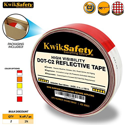 KwikSafety Retroreflective Conspicuity Commercial Adhesive