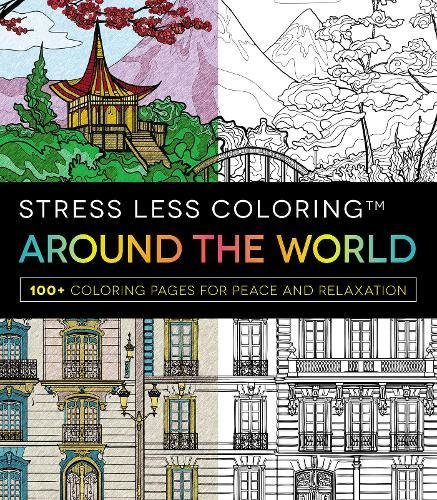 Fantasy Stress Less Coloring 100 Coloring Pages for Fun and Relaxation
