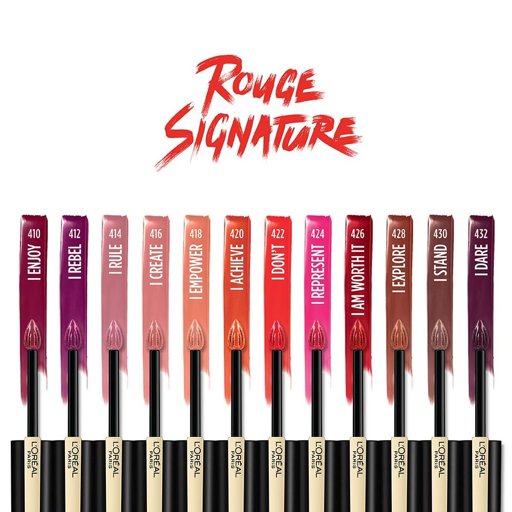 Image result for L'Oreal Paris Infallible Rouge Signature Matte Lightweight Lip Ink