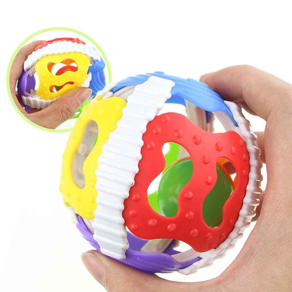 Fangfeen Poco Ruidoso Bola de Bell reci/én Nacido Actividad agarra el Anillo de Campanas de Juguete Juguete Manejar los Juguetes del traqueteo del beb/é Juguetes