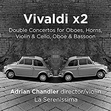 Image result for VIVALDI x2: Double Concertos for Horns, Oboes, Violin & Cello, Oboe & Bassoon (Avie