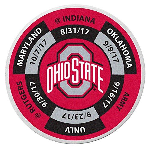 NCAA Ohio State Buckeyes Schedule Golf Ball Marker (Ohio Golf Gear)