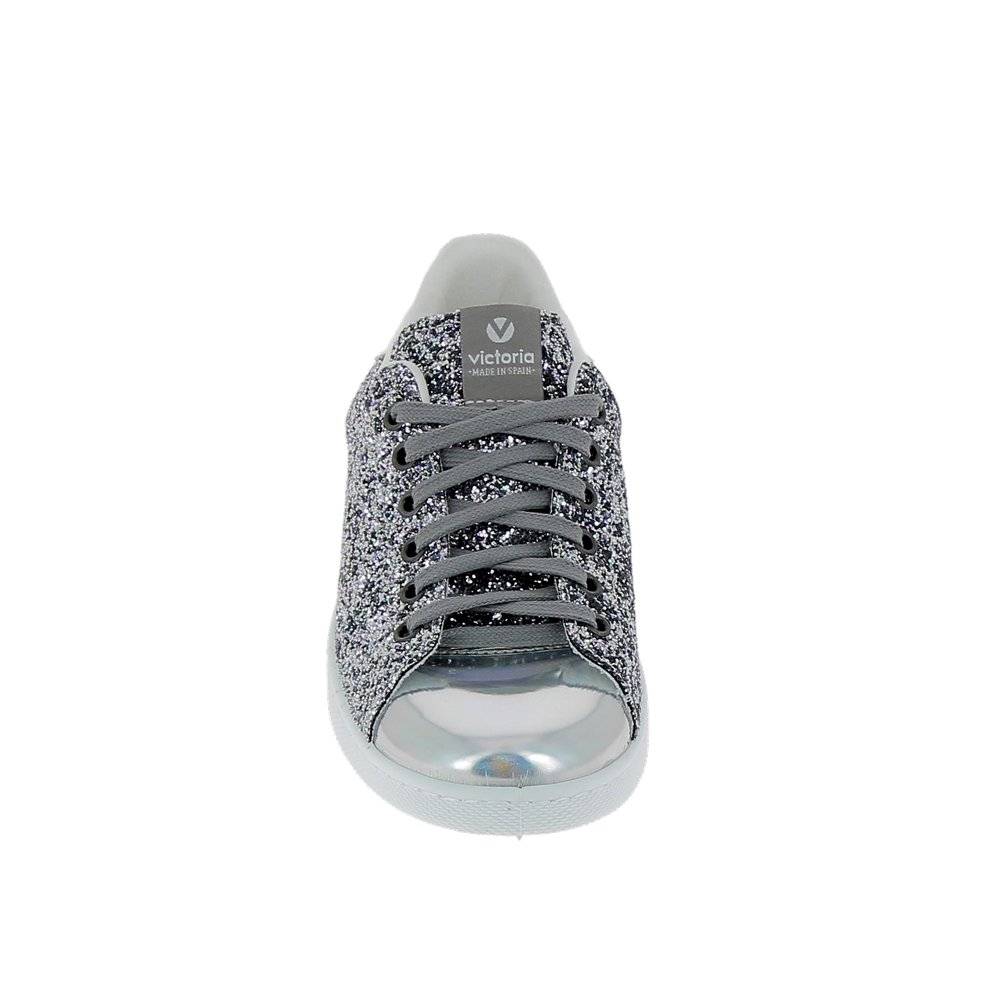 865e79a0929533 Victoria Sneaker 112558 Gris Paillettes: Amazon.fr: Chaussures et Sacs