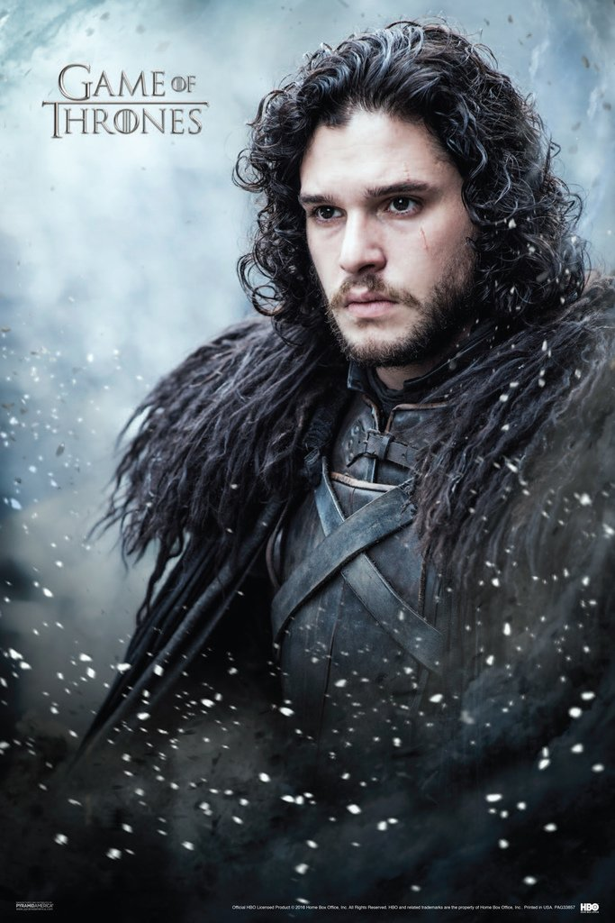 Game of Thrones Jon Snow TV Show Poster