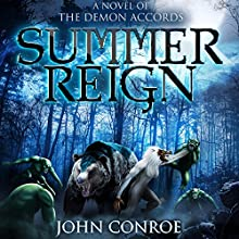 Summer Reign Audiobook by John Conroe Narrated by James Patrick Cronin