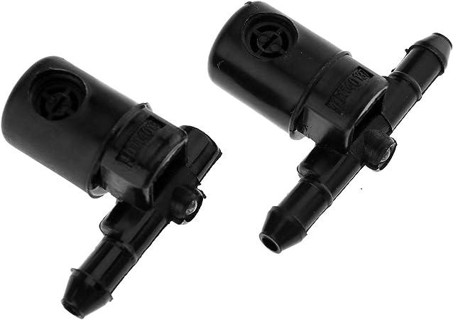 ugelli lavavetri tergicristalli compatibili con Buick//Opel 12782509 pacco da 2 Tergicristallo ugelli lavavetri tergicristalli auto