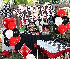 Decoraciones para Fiestas de Casino - Banner de Feliz ...