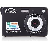 """Andoer HD caméra Numérique 18MP 2.7"""" TFT 8 x Zoom sourire capturer caméscope anti-tremblement"""