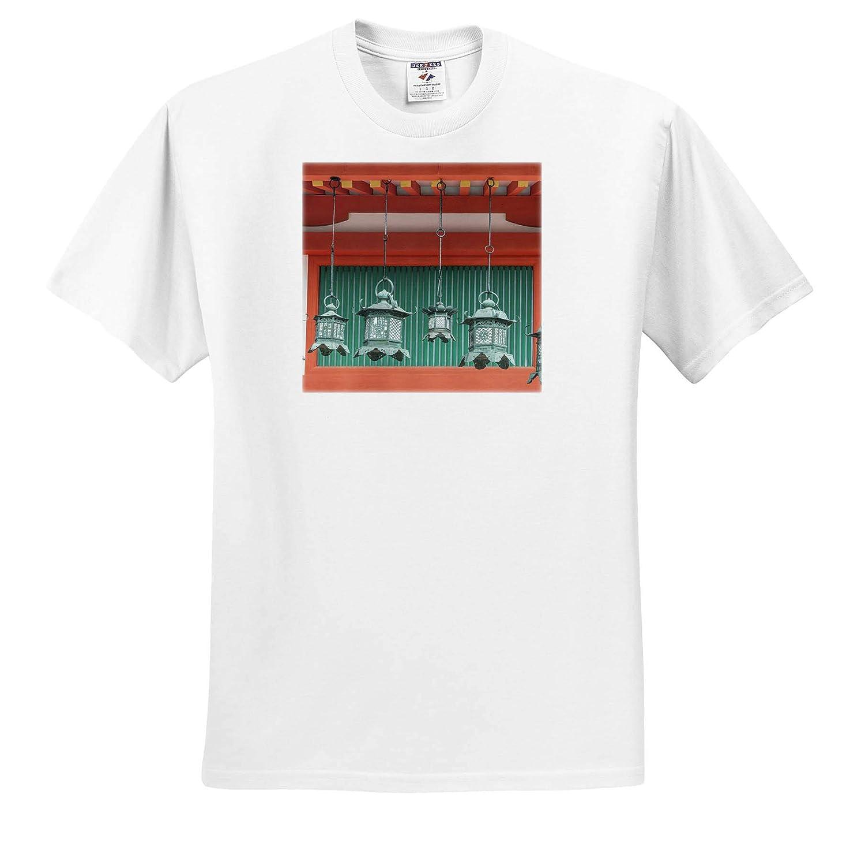 Japan 3dRose Danita Delimont ts/_312773 Japan Kasuga Shrine Lanterns Adult T-Shirt XL Nara