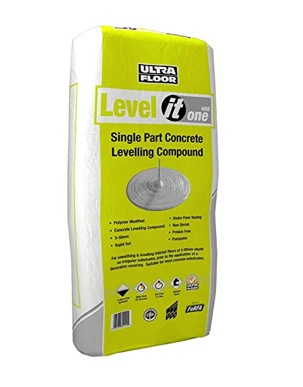 25kg Ultra Level IT One Grey self leveller levelling compound