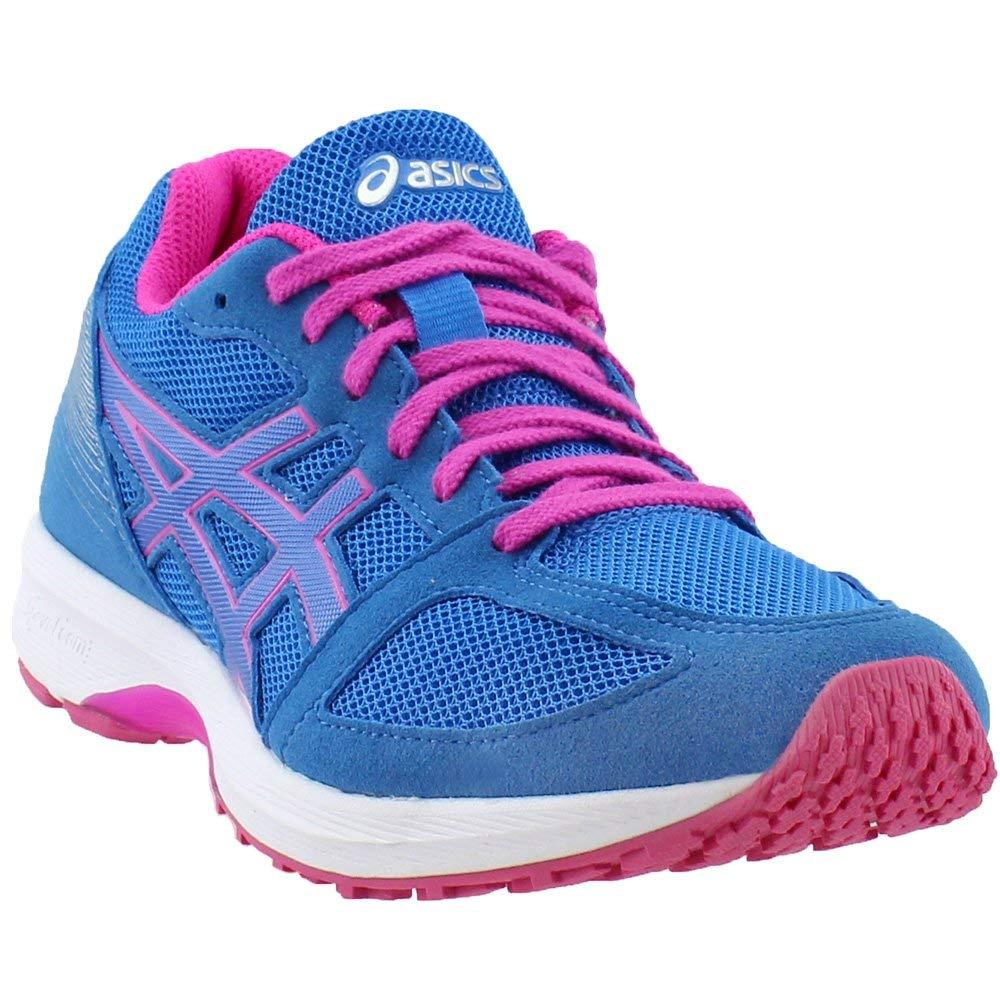 Directoire bluee-White-Pink Glow ASICS Women's Lyteracer Ts 7 Running shoes T8B5N