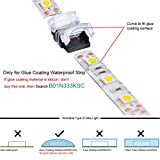 LED Strip Connector 2 Pin 10mm For Waterproof