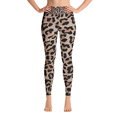 71670839897e8 Image Unavailable. Image not available for. Color: cheetah leopard print  Yoga Leggings