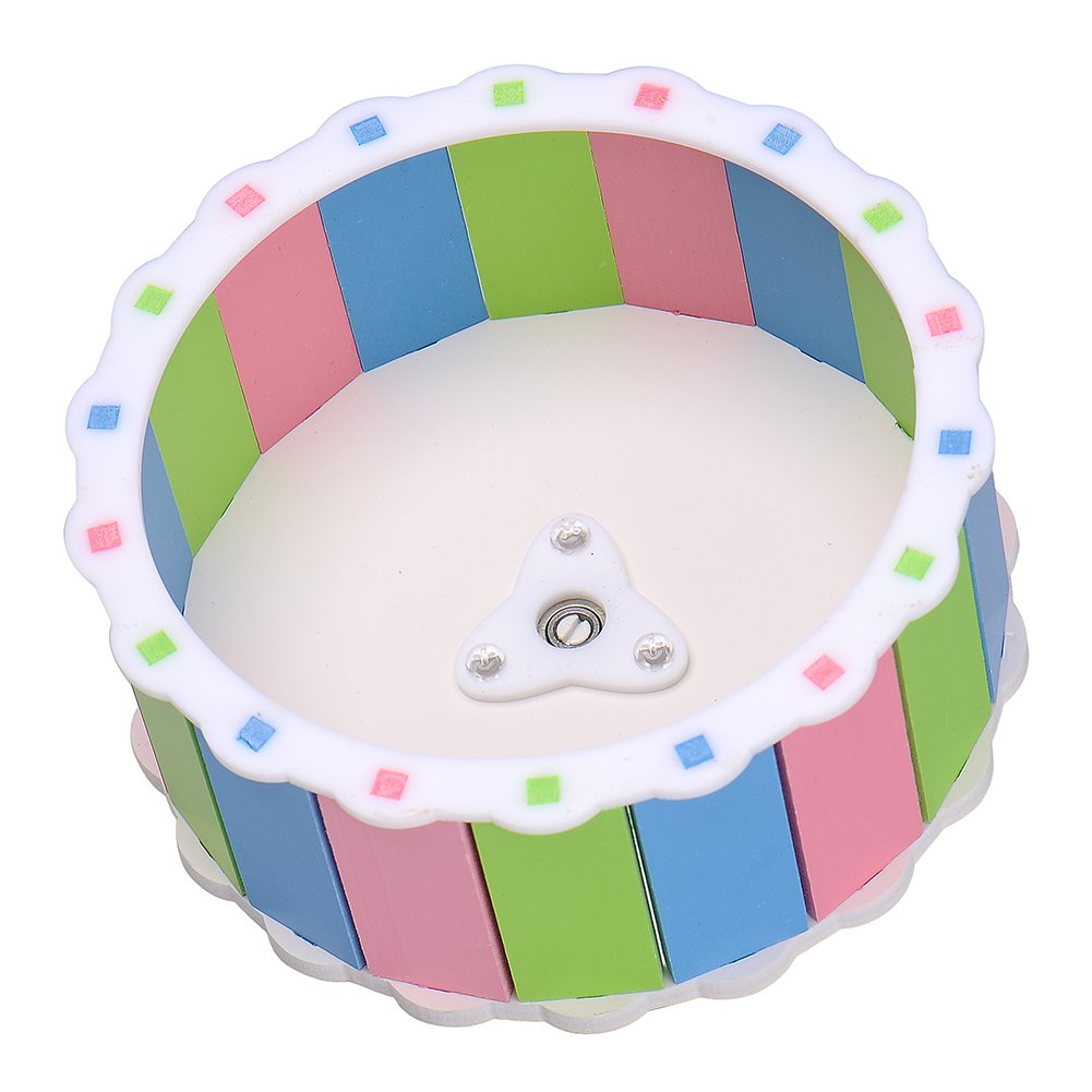 LLY Silent Hamster Exercise Wheel Play Toys for Hamster