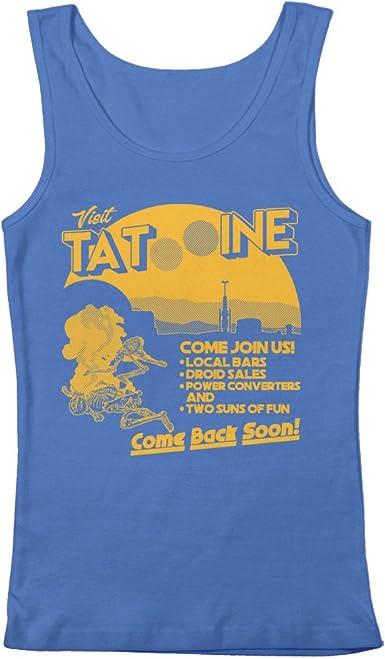 Visit Tatooine Star wars inspired Tshirt